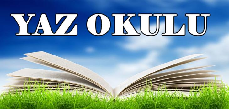 Yaz Okulu Final Sınav Programı GÜNCEL (31.07.2019)