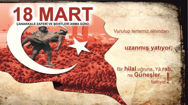 18 Mart Çanakkale Zaferi ve Şehitleri Anma Programı